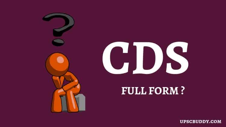Full Form of CDS